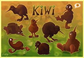 Just Kiwi by DolphyDolphiana