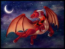 Dragon Galaxy by DolphyDolphiana
