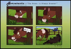 Horsetastic - Always Greener by DolphyDolphiana