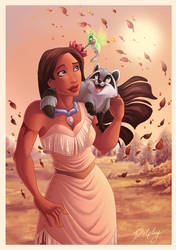 Pocahontas and Friends by DolphyDolphiana
