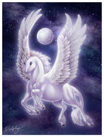 Winged Unicorn by DolphyDolphiana