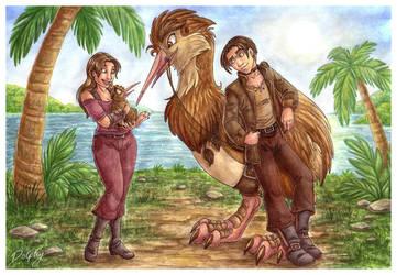 'Say Hello to Giant Kiwi' by DolphyDolphiana