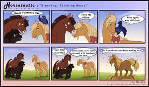 Horsetastic - Stinking Heart by DolphyDolphiana