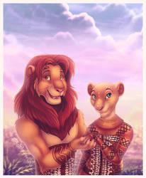 TLK-Musical - Simba and Nala by DolphyDolphiana