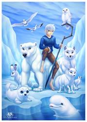 Arctic Guardian by DolphyDolphiana
