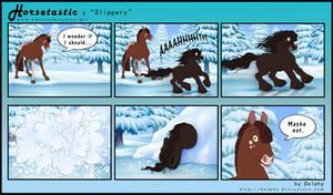 Horsetastic - Slippery by DolphyDolphiana