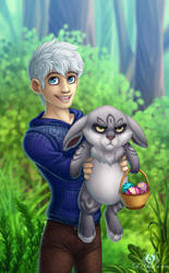 Happy Easter by DolphyDolphiana