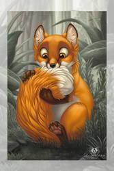 NomNom-Fox by DolphyDolphiana