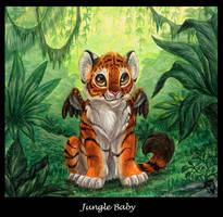Jungle Baby by DolphyDolphiana