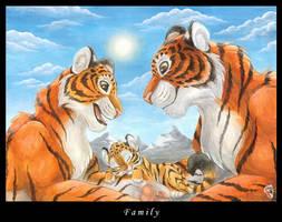 Family by DolphyDolphiana