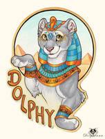 Egyptian Dolphy - Badge by DolphyDolphiana