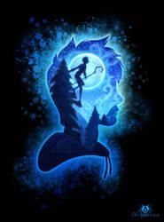 Jack Frost - Silhouette by DolphyDolphiana