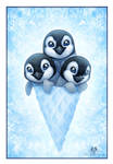 Icecone - Penguins by DolphyDolphiana