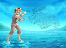 Sari Fisherman by DolphyDolphiana