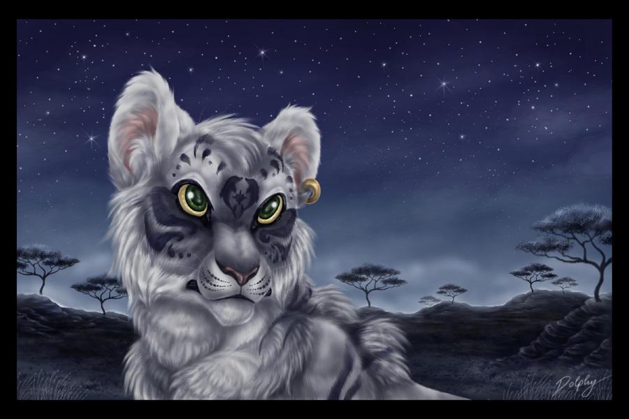 Midnight Savannah by DolphyDolphiana