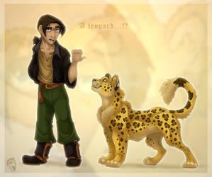 A Leopard ? by DolphyDolphiana