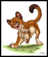 Cougar Cub by DolphyDolphiana