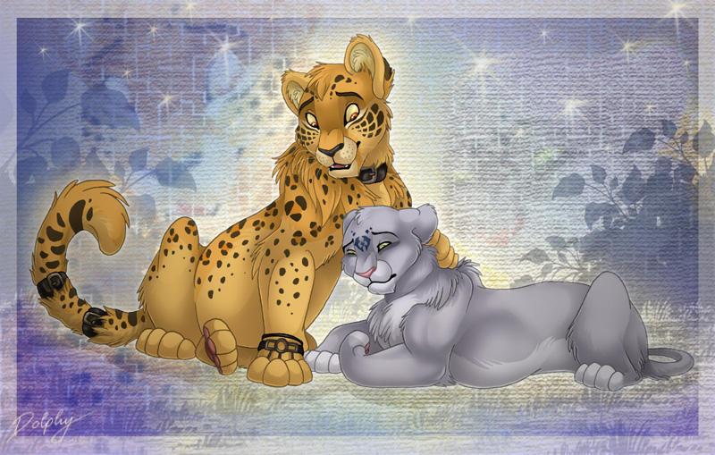 Dark Jaguar and me by DolphyDolphiana