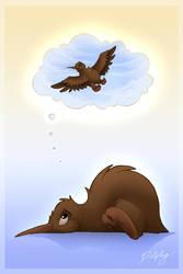 A Kiwi's Dream by DolphyDolphiana