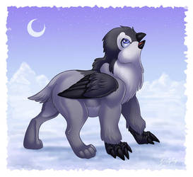 Penguin-Griffin by DolphyDolphiana