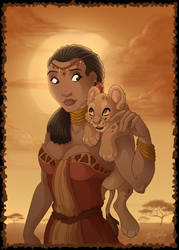 African Princess by DolphyDolphiana