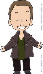 Cute Doctor - Eccleston by elisamoriconi