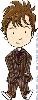 Cute Doctor - Tennant by elisamoriconi