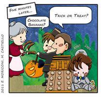 Comic Who - Bad Bad Beans by elisamoriconi
