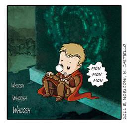 Comic Who - Timey Wimey by elisamoriconi