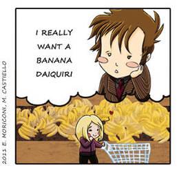 Comic Who - Bananas Are Good by elisamoriconi