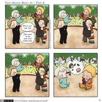Comic Who - Baby Yana against Bakey Jr part 2 by elisamoriconi