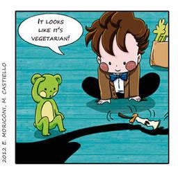 Comic Who - Shadows and Bananas by elisamoriconi