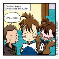 Comic Who - Reunion (50!!!) by elisamoriconi