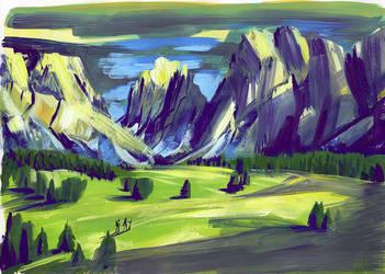 Color sketch by elisamoriconi