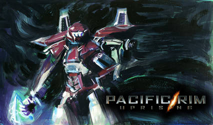 PACIFIC RIM UPRISING - Silver - Red Jaeger by elisamoriconi