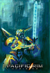 PACIFIC RIM UPRISING - Orange Jaeger by elisamoriconi