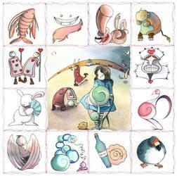 Alice in Wonderland - Cover by elisamoriconi