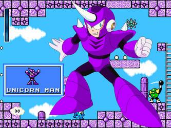 Megaman CalEdit - Unicornman by JuegosCAL
