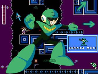 Megaman CalEdit - Arrowman by JuegosCAL