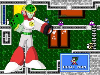 Megaman CalEdit - Bowlman by JuegosCAL