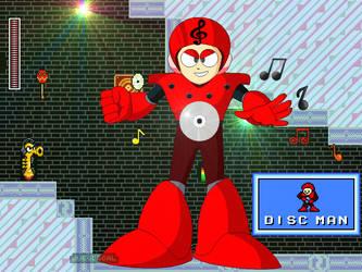 Megaman CalEdit - Discman by JuegosCAL