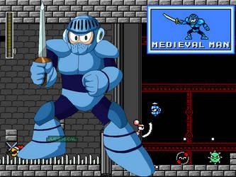 Megaman CalEdit - Medievalman by JuegosCAL
