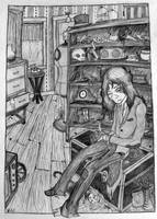 Waiting in the Junk Shop by Kindernacht