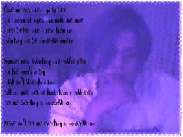 Everclear lyrics over my pic by lockedinside