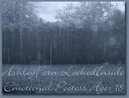 Ashley Id rain by lockedinside