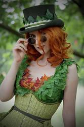 Steampunk Poison Ivy by Nephtis