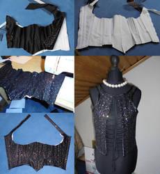 WIP Frank's SHINY corset by Nephtis