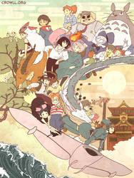 Miyazaki Compilation by meiwren