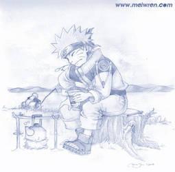 Naruto and Jiraiya by meiwren