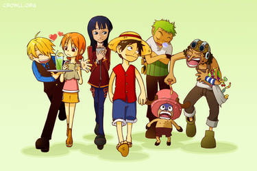 One Piece Gang - Franky-less by meiwren
